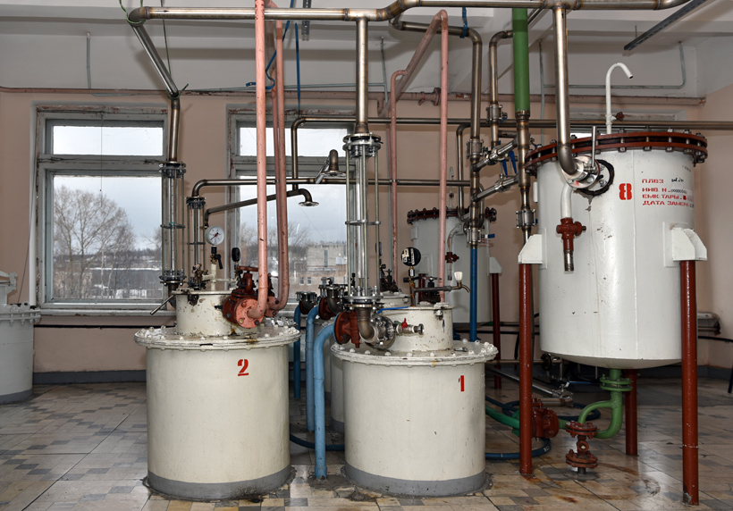 Petrovsky Liquor Factory - Charcoal Filtration Columns