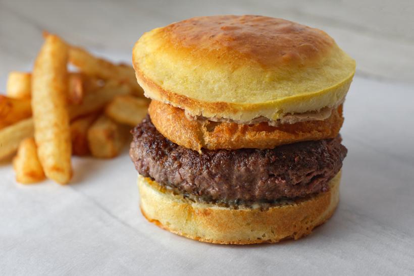 Russian Gastrocafé Goose Burger