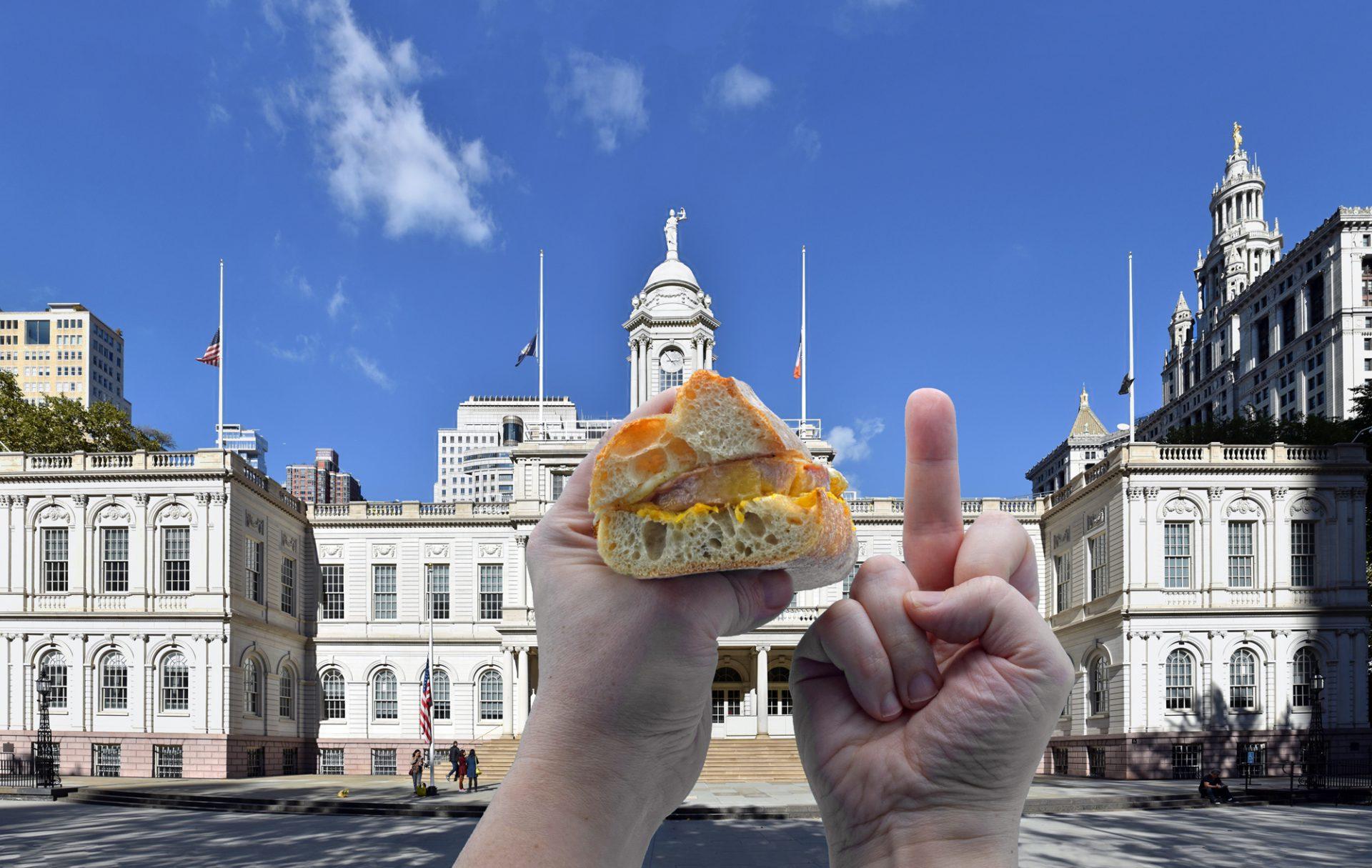 New York City Foie Gras Ban - Foie Gras Sandwich