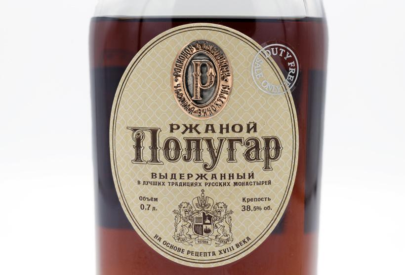 Polugar - Aged Rye Vodka