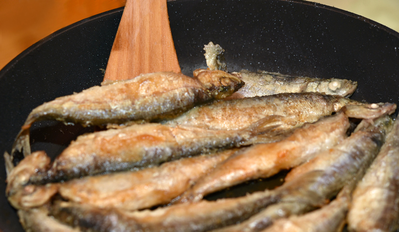 Russia - Lake Lacha - Fried Vendace