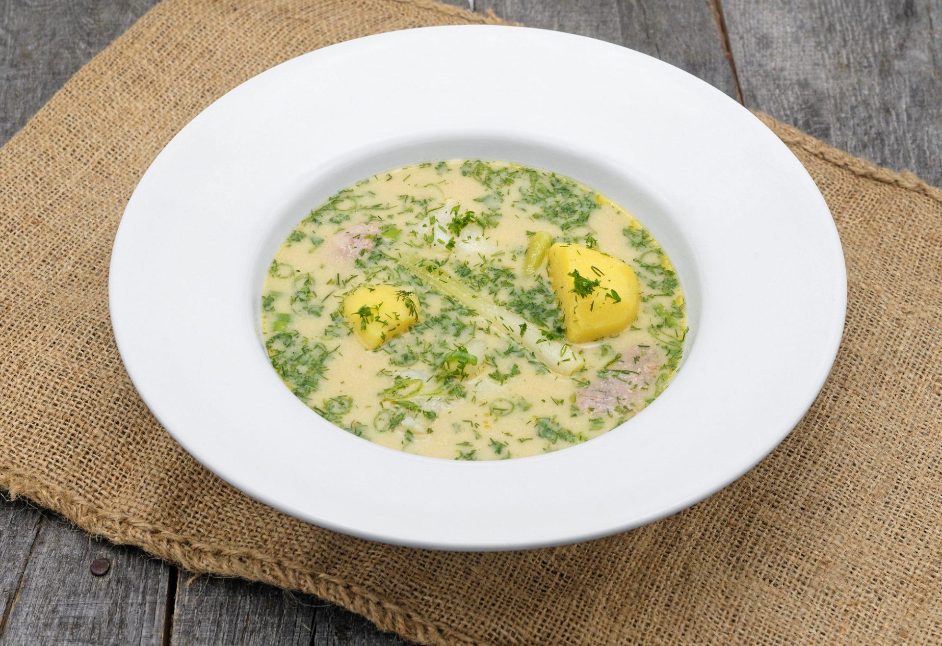 Russian Cuisine - Pomor Fish Soup