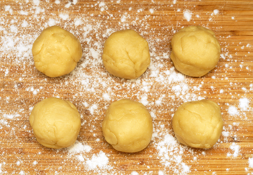 Russian Cuisine - Potato Kalitkas