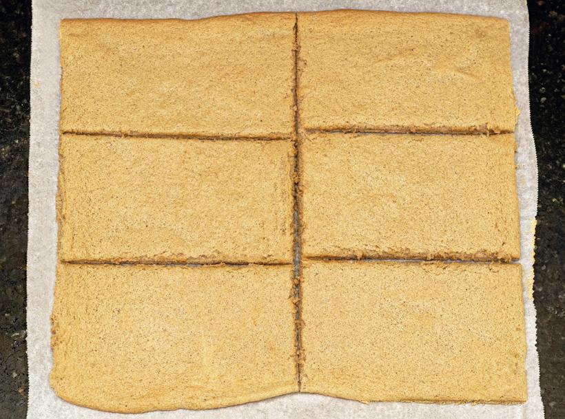 Russian Dessert - Rye Bread Cake
