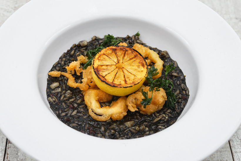 Croatian Cuisine - Black Risotto