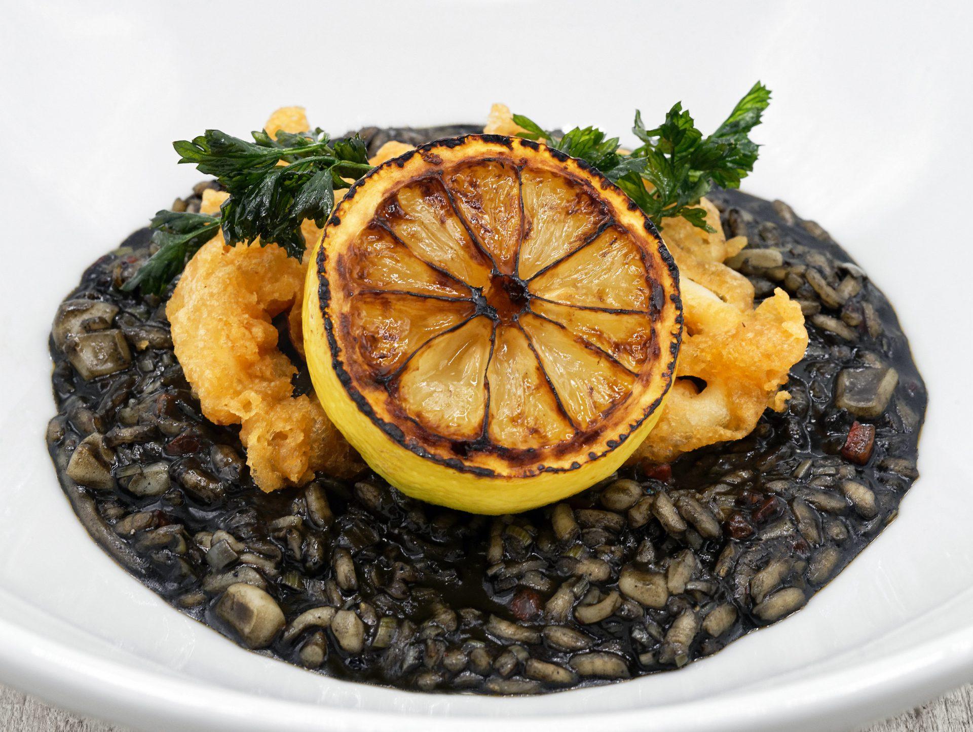 Croatian Cuisine - Black Risotto
