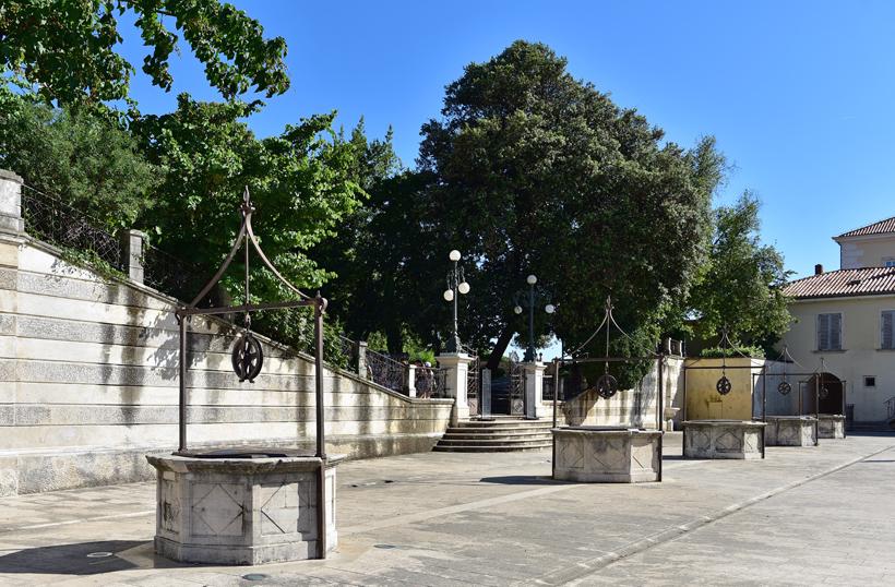Zadar - Five Wells Square