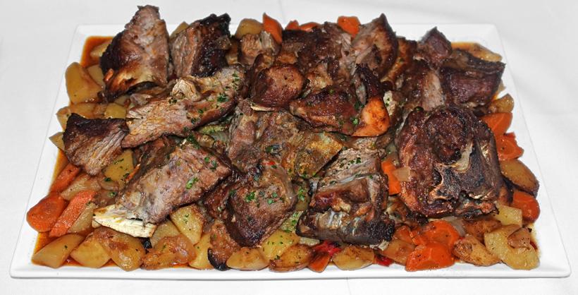 New Rochelle, New York - Dubrovnik Restaurant - Veal under the Bell