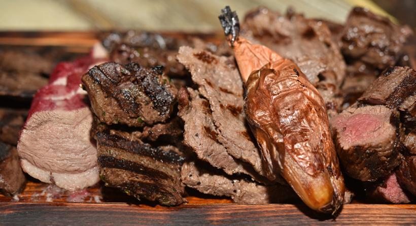 Moscow - Ekspeditsia Restaurant - Game Bag Meat Platter