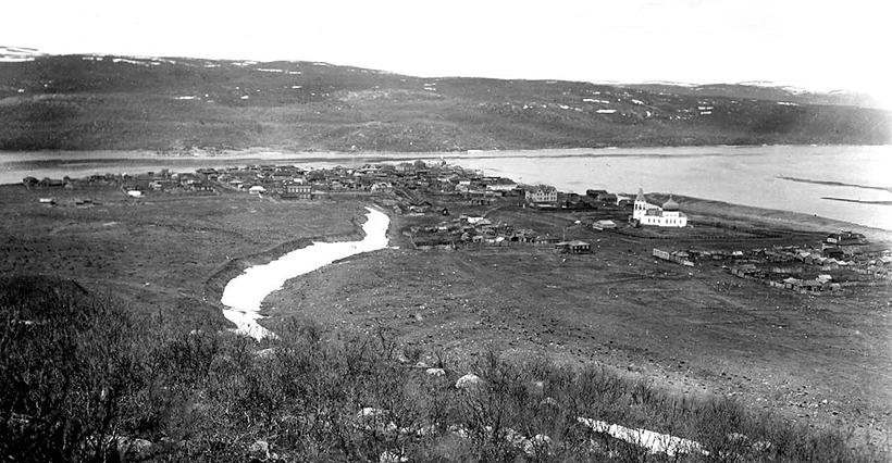 Town of Kola (photograph by Toivo Immanuel Itkonen, 1914)
