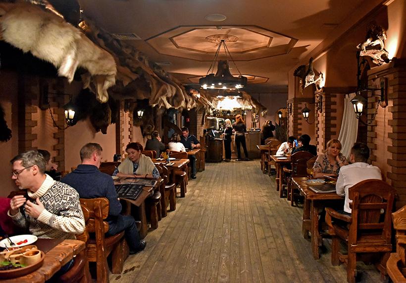 Murmansk - Tsarskaya Okhota Restaurant