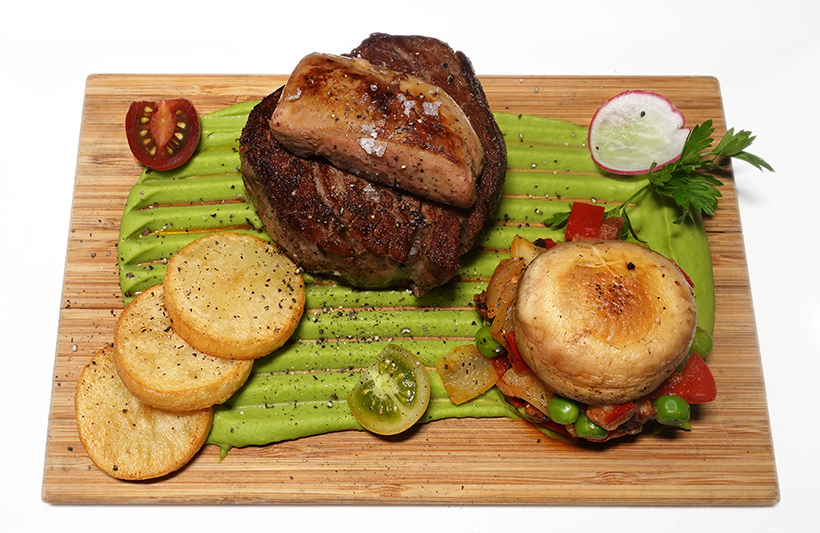 Budapest - Bock Bistro - Beef Tenderloin with Goose Liver Budapest Style
