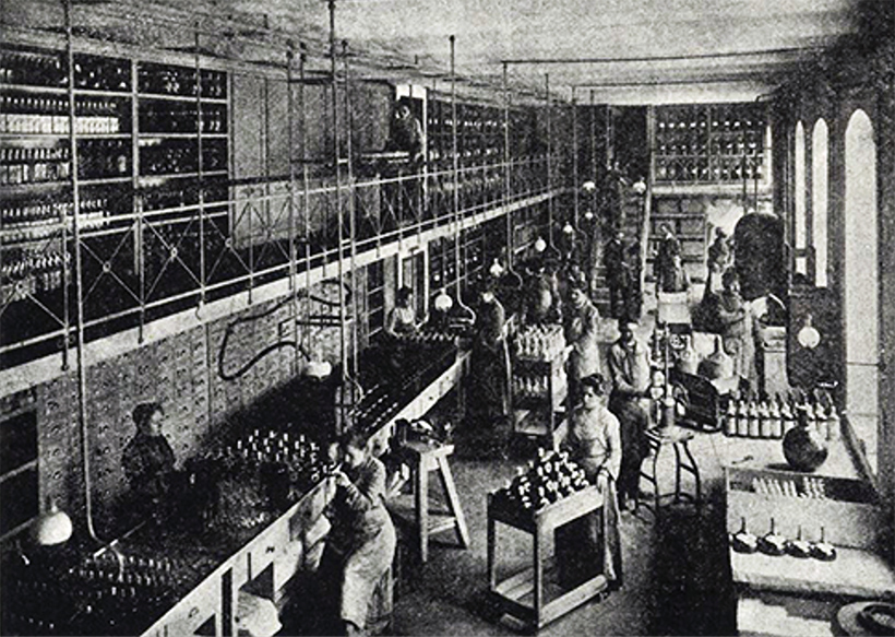 Zwack Factory on Soroksári Street